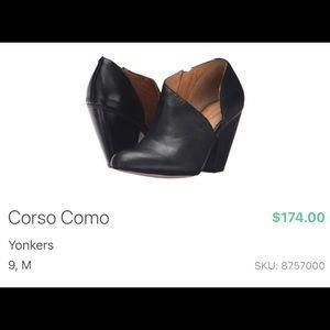 "Corso Como ""Yonkers"" booties"